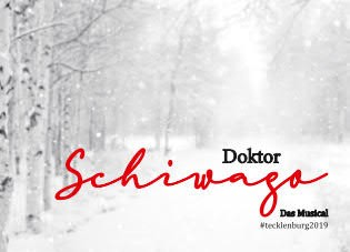 DOKTOR SCHIWAGO #tecklenburg2019 - Aufkleber