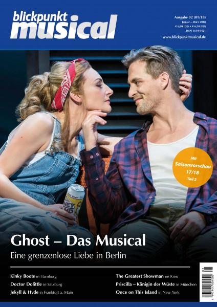 blickpunkt musical - 01-18 - Ausgabe 92