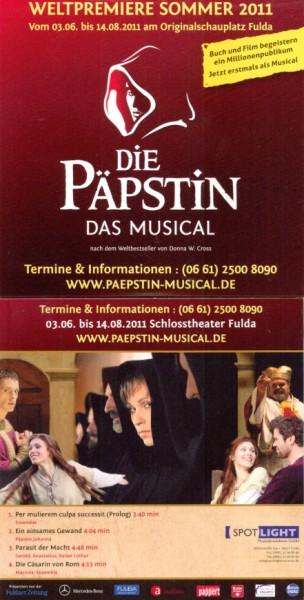 PRÄMIE PROMO CD PÄPSTIN
