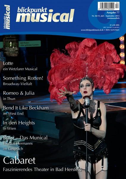 blickpunkt musical - 04-15 - Ausgabe 77