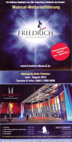 PRÄMIE PROMO CD FRIEDRICH