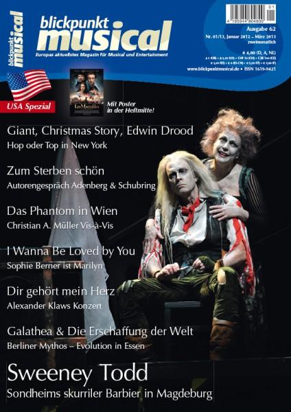 blickpunkt musical - 01-13 - Ausgabe 62