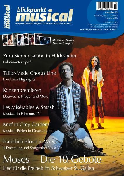 blickpunkt musical - 02-13 - Ausgabe 63 DOWNLOAD