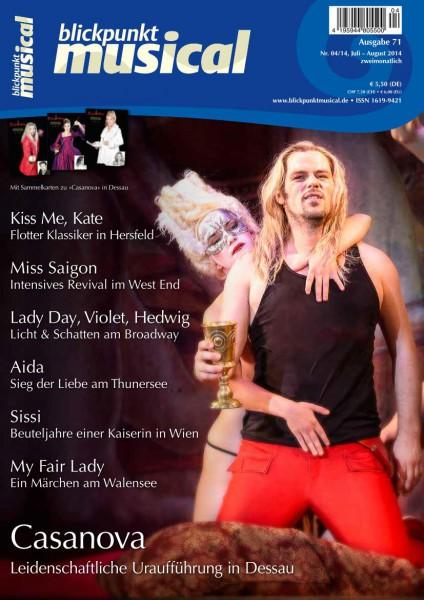 blickpunkt musical - 04-14 - Ausgabe 71 DOWNLOAD