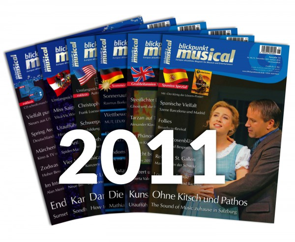 blickpunkt musical - Jahrgang 2011