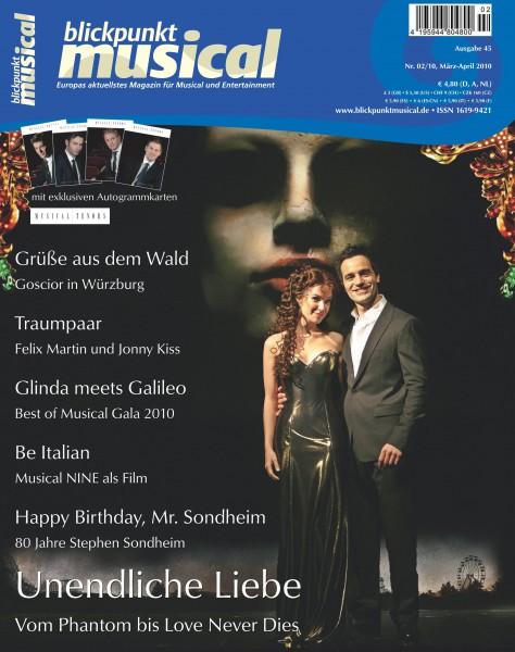 blickpunkt musical - 02-10 - Ausgabe 45