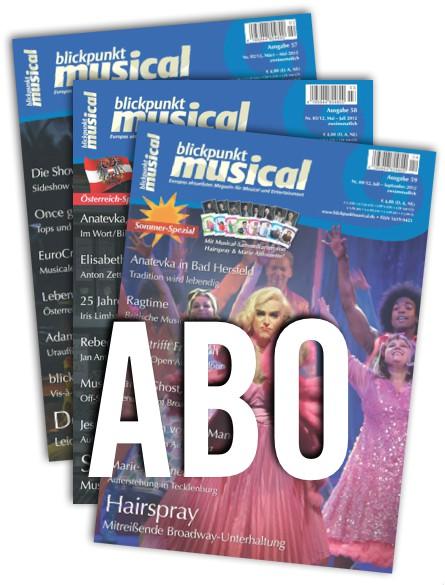 blickpunkt musical ABO KOMBI - DEUTSCHLAND