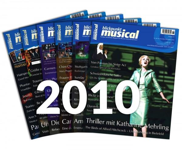 blickpunkt musical - Jahrgang 2010