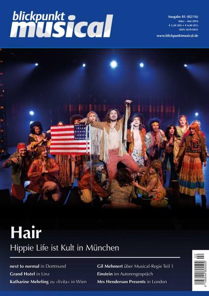 blickpunkt musical - 02-16 - Ausgabe 81