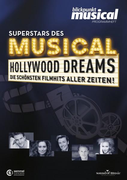 Programmheft - HOLLYWOOD DREAMS - Die schönsten Filmhits aller Zeiten - DOWNLOAD
