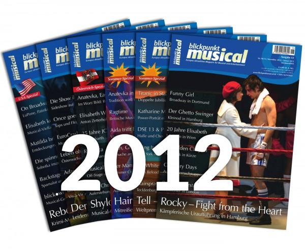 blickpunkt musical - Jahrgang 2012